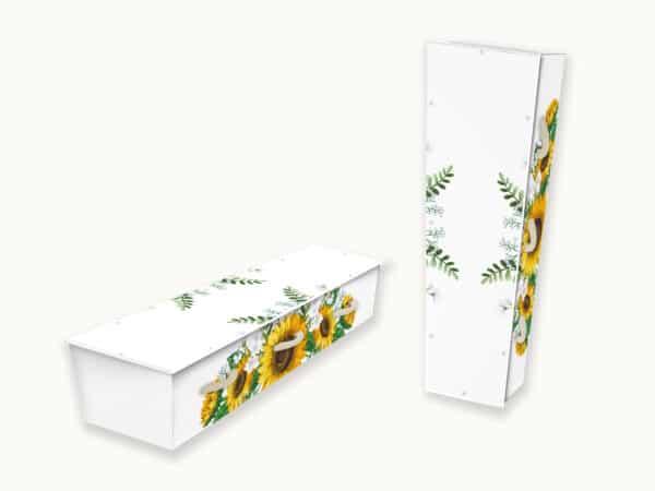 Uitvaartkist Zonnebloemen 1